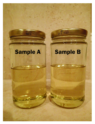 Sample oil